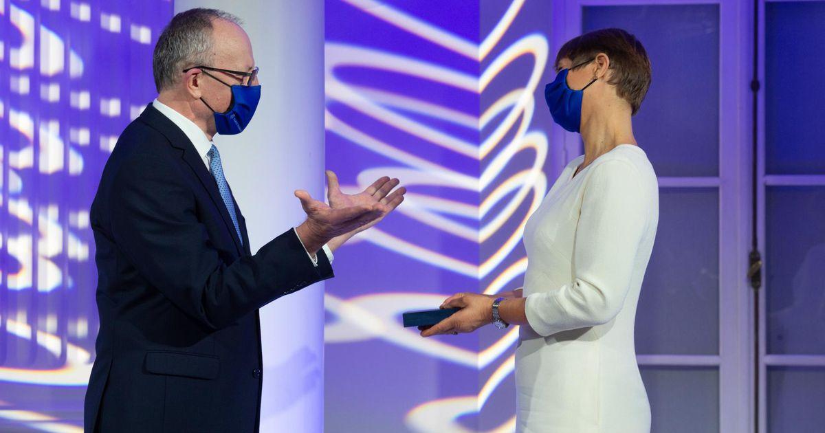 President Kersti Kaljulaid sai Tartu ülikoolilt kõrge tunnustuse,...