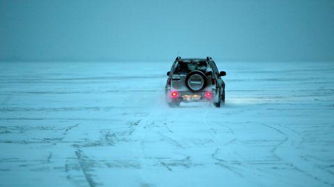 Laaksaare–Piirissaare jääteed mööda sõideti nädalavahetusel üle kahesaja korra