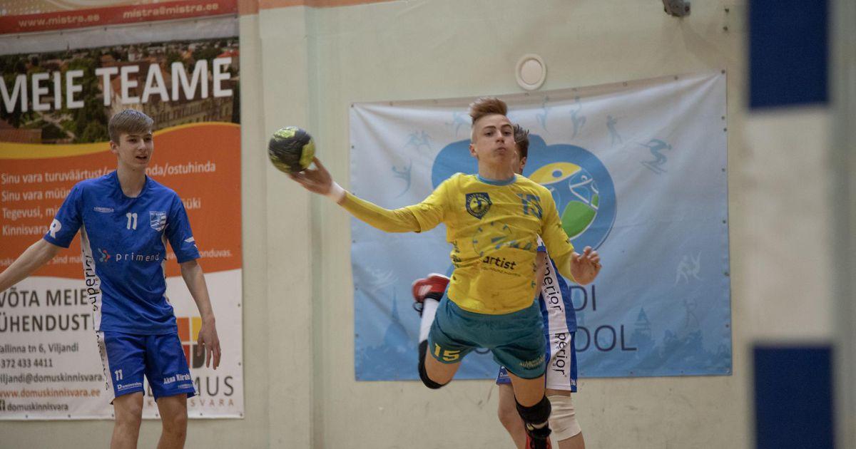 Viljandi spordikooli noored käsipallurid võitsid omavanuste turniiri suure eduga