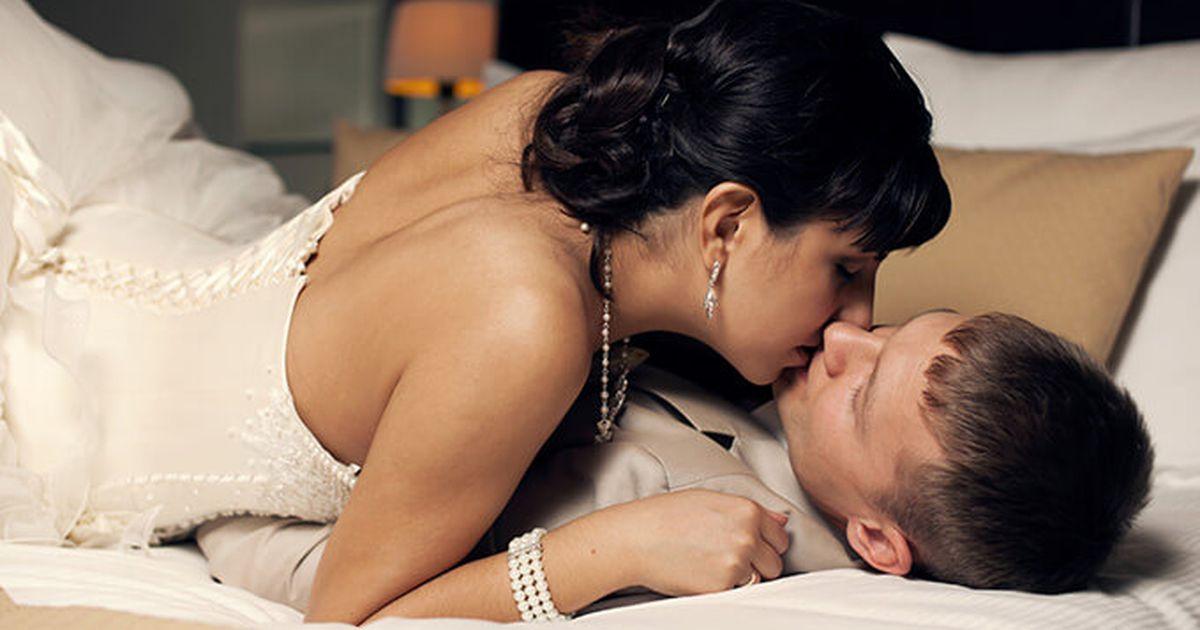 Оргазм в первую брачную ночь