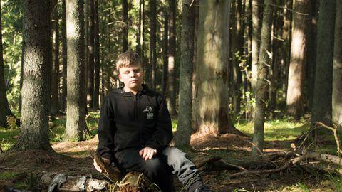 11-aastane Peeter.