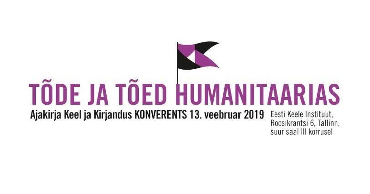 Otseülekanne konverentsilt: Tõde ja tõed humanitaarias